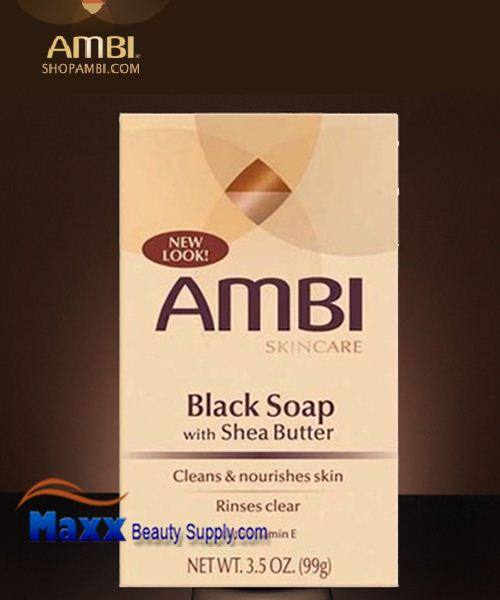 ambi black soap with shea butter