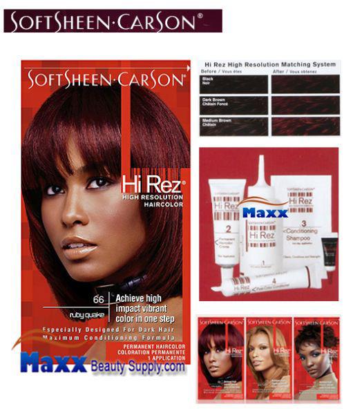 Softsheen Carson Hi Rez High Resolution Permanent Hair