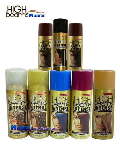 High Beams Intense Temporary Spray On Hair Color 2 7oz