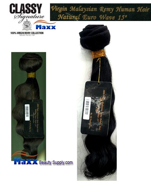 Jk Trading Classy Malaysian Remy Hair Euro Wave Bundle