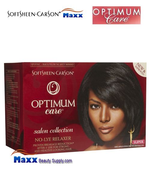 Softsheen & Carson Optimum Care No Lye Hair Relaxer Kit - Super